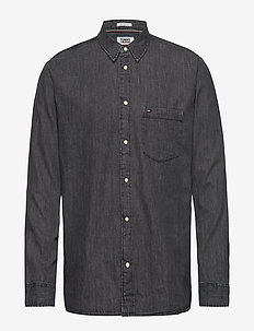 REGULAR DENIM SHIRT MSNBK - MISSION WASHED BLACK