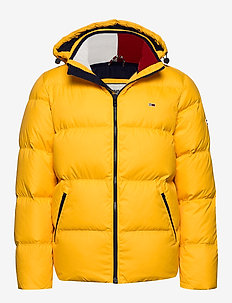 TJM ESSENTIAL DOWN JACKET - SPECTRA YELLOW