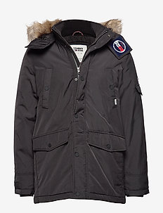 TJM TECH PARKA - TOMMY BLACK