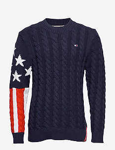 TJM AMERICANA FLAG S - BLACK IRIS / MULTI