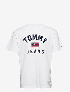 TJM USA FLAG TEE - CLASSIC WHITE