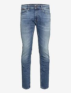 SCANTON SLIM NSUMD - slim jeans - nassau mid bl str