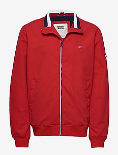 TJM ESSENTIAL BOMBER - bomber jackets - racing red