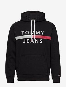 TJM REFLECTIVE FLAG - TOMMY BLACK