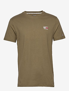 TJM CHEST LOGO TEE - basic t-shirts - uniform olive