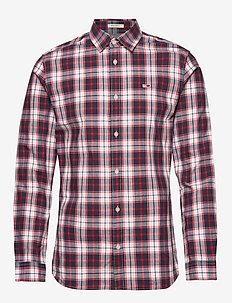 TJM POPLIN MULTI CHECK SHIRT - chemises à carreaux - classic white/multi