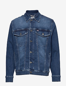 OVERSIZED DENIM TRUCKER BDFM - BEDFORD MID BL COM