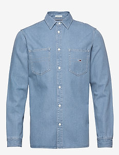 TJM DENIM SHIRT - MID INDIGO