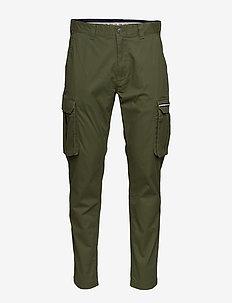 TJM CARGO DOBBY PANT - pantalon cargo - cypress