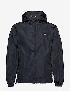 TJM PACKABLE WINDBREAKER - light jackets - black