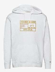 TJM SURPLUS HOODIE - basic sweatshirts - white