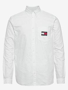 TJM OXFORD BADGE SHIRT - basic skjorter - white