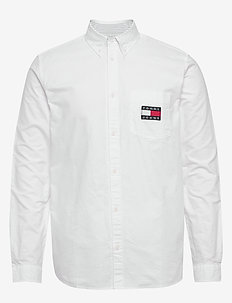 TJM OXFORD BADGE SHIRT - chemises basiques - white