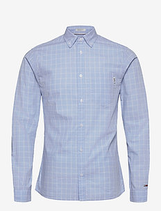 TJM WINDOWPANE SHIRT - chemises à carreaux - light blue / multi