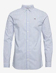 TJM STRIPE STRETCH P - chemises décontractées - white / multi
