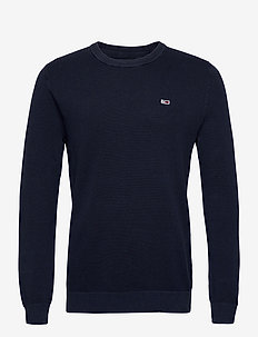 TJM LIGHTWEIGHT SWEATER - basic strik - twilight navy