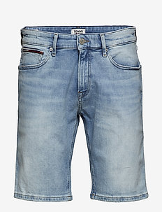 SCANTON SLIM SHORT C - denim shorts - court lt bl str