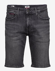 SCANTON SLIM SHORT C - denim shorts - court bk str