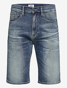 REY RELAXED SHORT WSTRM - jeansshorts - wister mid bl com