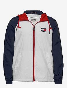 TJM COLORBLOCK ZIPTH - light jackets - white / multi