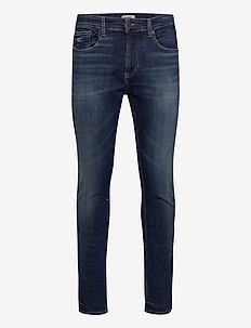AUSTIN SLIM BRDBST - skinny jeans - borg dark blue stretch