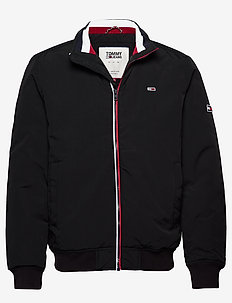TJM ESSENTIAL PADDED JACKET - fodrade jackor - black