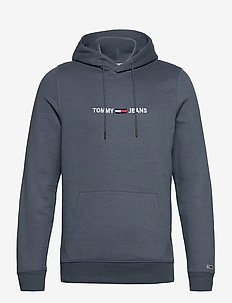 TJM STRAIGHT LOGO HOODIE - hoodies - faded ink