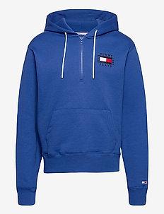 TJM HALF ZIP HOODIE - hoodies - providence blue