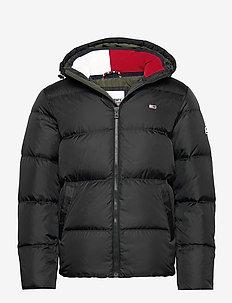 TJM ESSENTIAL DOWN JACKET - vestes matelassées - black