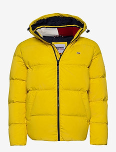 TJM ESSENTIAL DOWN JACKET - padded jackets - valley yellow