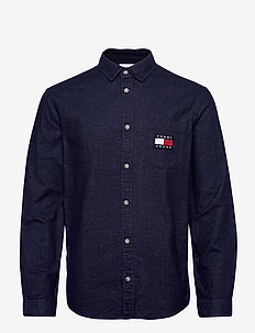 TJM BRUSHED OXFORD BADGE SHIRT - casual - twilight navy