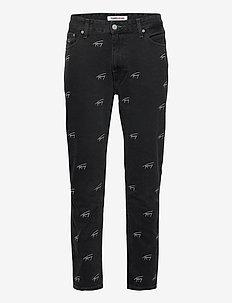 DAD JEAN STRGHT SVCBKR - regular jeans - tj save fa critter black rigid