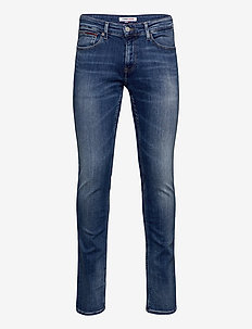 SCANTON SLIM QMBST - slim jeans - queens mid blue str
