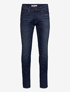 SCANTON SLIM QDBST - slim jeans - queens dark blue str