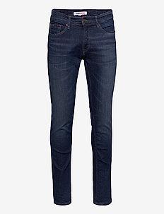 SCANTON SLIM QDBST - slim jeans - queens dark blue str