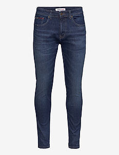 AUSTIN SLIM QDBST - slim jeans - queens dark blue str