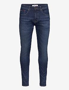 AUSTIN SLIM QDBST - slim jeans - queens dark blue str