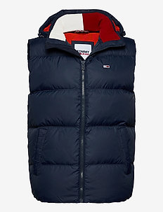 TJM PADDED DOWN VEST - vesten - twilight navy