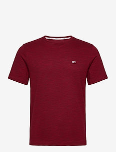 TJM GRINDLE TWIST TEE - basic t-shirts - wine red