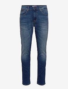AUSTIN SLIM TAPERED WMBS - slim jeans - wilson mid blue stretch