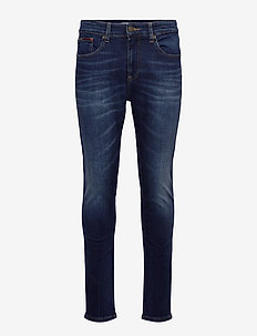 AUSTIN SLIM TAPERED ASDBS - slim jeans - aspen dark blue stretch