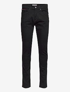 AUSTIN SLIM TAPERED NBKS - slim jeans - new black stretch