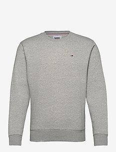 TJM REGULAR FLEECE C NECK - basic sweatshirts - lt grey htr