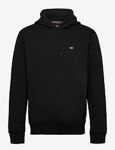 TJM REGULAR FLEECE HOODIE - hættetrøjer - black