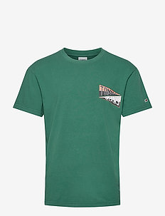 TJM BACK GRAPHIC TEE C - basic t-shirts - rural green