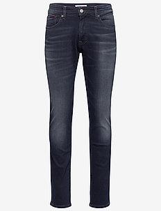 SCANTON SLIM COBBS - slim jeans - cornell bl bk str