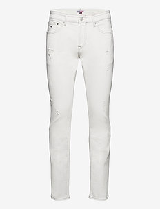 SCANTON SLIM OWCD - slim jeans - optic wh com destr