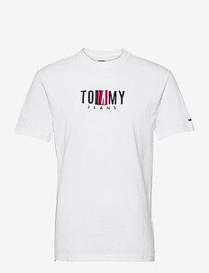 TJM TIMELESS TOMMY BOX TEE - kortärmade t-shirts - white