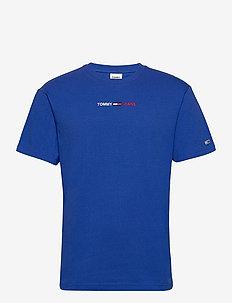 TJM LINEAR LOGO TEE - t-shirts - cobalt