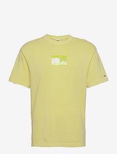 TJM TONAL FLAG TEE - kortärmade t-shirts - faded lime